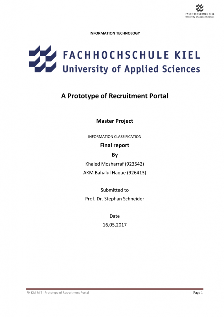 Permalink to Pdf) A Prototype Of Recruitment Portal within Er Diagram Job Portal