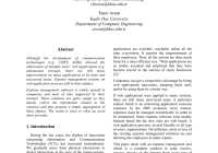 Pdf) Analytical Expense Management System