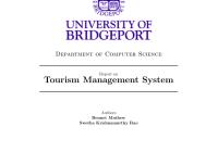 Pdf) Tourism Management System