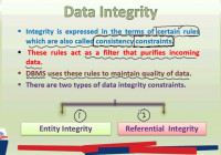 Pgc Lectures: Data Integrity And Types, Entity Integrity, Referential  Integrity regarding Entity Types In Dbms