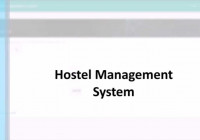 Project ][ Django ]Hostel Management System – Youtube