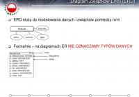 Relacyjne Bazy Danych Wykład 02 Wojciech St. Mościbrodzki regarding Diagram Er W Zapisie Martina
