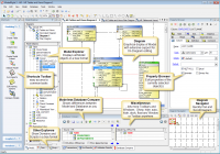 Relational Database Design Examples | Sql Server Database with regard to Sql Database Diagram
