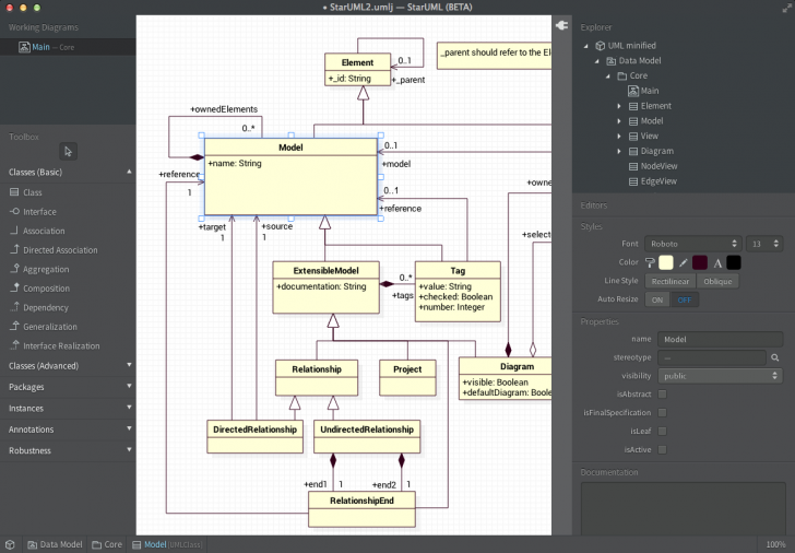 Permalink to Release | Staruml | Page 3 pertaining to Er Diagram Using Staruml