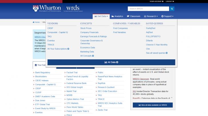 Permalink to Search Tips – Wrds – Libguides At Babson College with Wrds Database