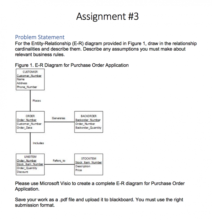 Permalink to How To Draw Er Diagram From Problem Statement