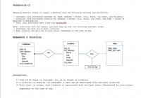 Solved: Consider The Scenario From Homework 2 Where You De throughout Er Diagram Assignment Solution