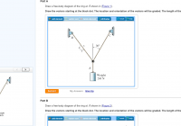 Solved: Part A Draw A Free-Body Diagram Of The Ring At A S within Draw Diagram Free