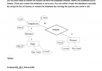 Solved: The Following Er Diagram And Respective Relational with regard to Er Diagram Questions