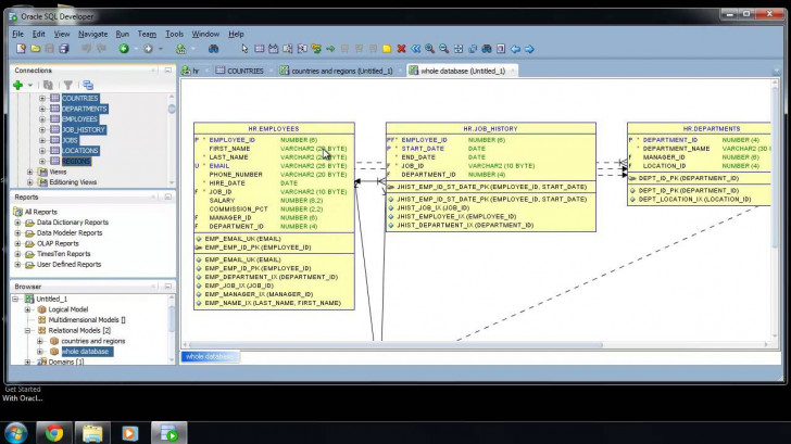 Permalink to Sql Developer Er Diagram : Sqlvids intended for Er Diagram From Sql Developer