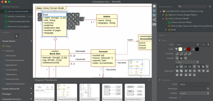 Permalink to Staruml within Er Diagram Software Open Source