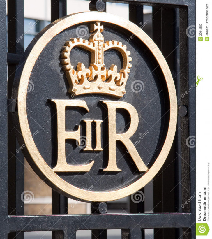 Permalink to Symbol Of Queen Elizabeth Stock Photo. Image Of Kingdom with regard to Er Symbol