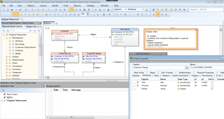 Permalink to Toad Data Modeler pertaining to Er Diagram Toad