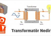Transformatör (Trafo) Nedir? Çeşitleri, Nerelerde Kullanılır regarding Er Diagram Nasıl Yapılır