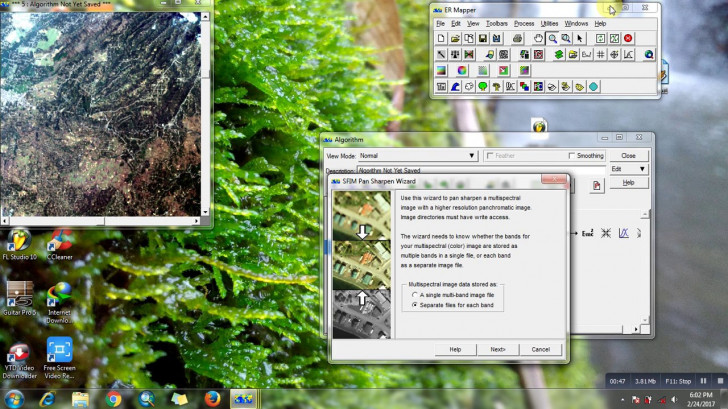 Permalink to Tutorial Pansharpening Landsat 8 Dengan Er Mapper with Er Mapper