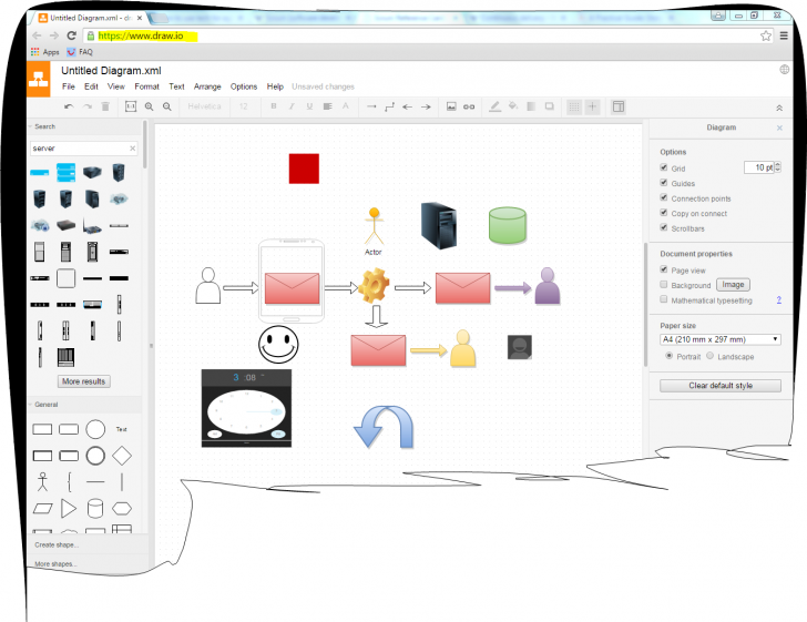 Permalink to Tutorialexample: Online Diagram Free Software Draw.io with Draw Diagram Free