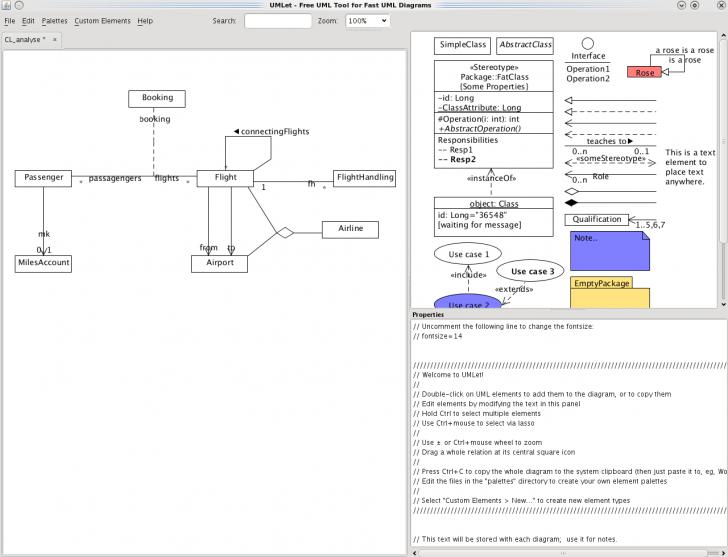 Permalink to Umlet – Uml, Datenbank-Diagramme Und Mehr in Datenbank Diagramm