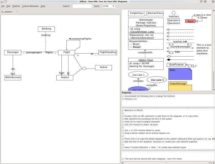 Permalink to Umlet – Uml, Datenbank-Diagramme Und Mehr throughout Er Diagramm 1 Zu N