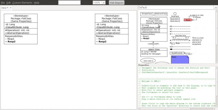 Permalink to Umlet – Uml, Datenbank-Diagramme Und Mehr within Datenbank Diagramm