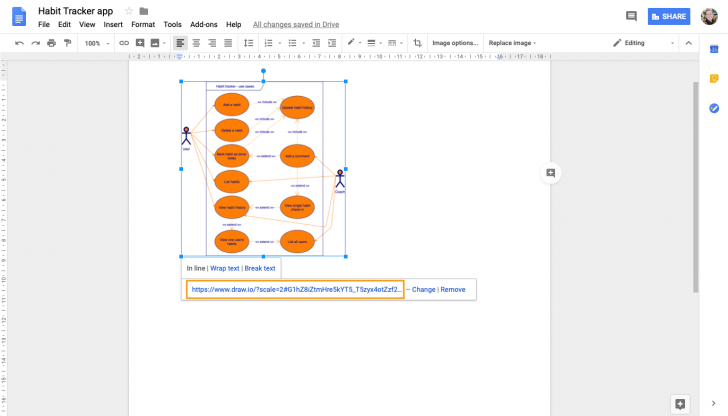 Permalink to Use Draw.io Diagrams In Google Docs – Draw.io intended for Er Diagram Google Docs