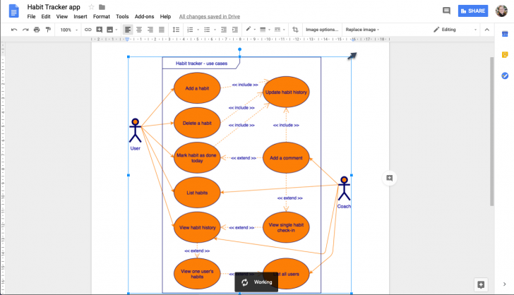 Permalink to Use Draw.io Diagrams In Google Docs – Draw.io with regard to Er Diagram Google Docs