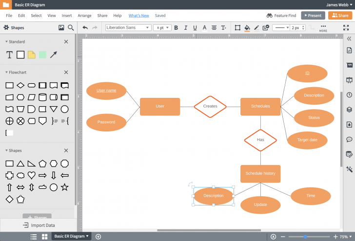 Permalink to Visio For Mac | Lucidchart within Er Diagram On Visio