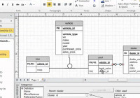 Visio Subtype Supertype Modeling intended for Er Diagram In Access 2007