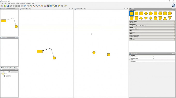 Permalink to Webinar: Diagramming With Yed with regard to Er Diagram Yed