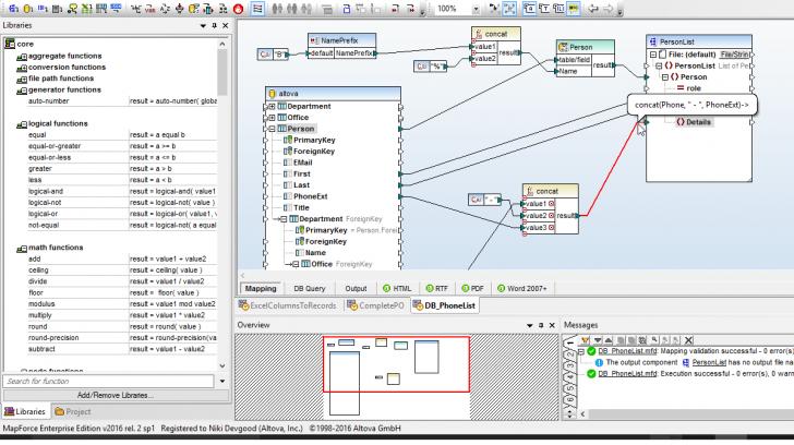 Permalink to Xsd Tools | Altova pertaining to Er Diagram Xml