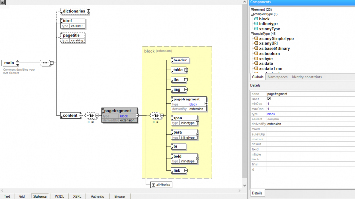 Permalink to Xsd Tools | Altova throughout Generate Er Diagram From Xsd