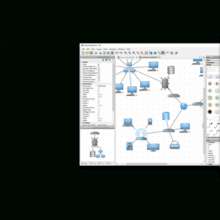 Permalink to Yed – Graph Editor throughout Er Diagram Yed