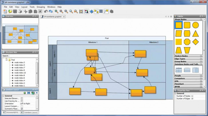 Permalink to Yed – Graph Editor with Er Diagram Yed